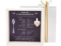 Geldgeschenk Verpackung Goldhochzeit Gutschein Geschenk Goldene Hochzeit Rezept für 50 Jahre Ehe 3
