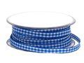 20m 10mm Karoband Blau-Weiss Dekoband Oktoberfest  Schleifenband Tischdeko Deko 1