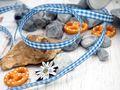 20m 10mm Karoband Blau-Weiss Dekoband Oktoberfest  Schleifenband Tischdeko Deko 4