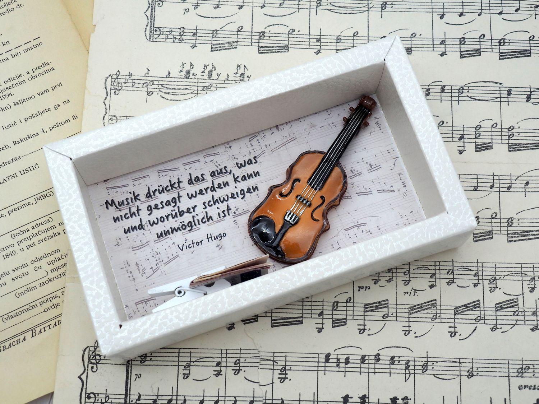 Geldgeschenk Verpackung Musik Konzert Klassik Geige Orchester Musiker Geschenk Violine