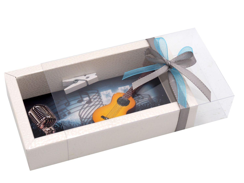 Geldgeschenk Verpackung Konzert Musik Gitarre Gutschein Geschenk Show Konzertticket