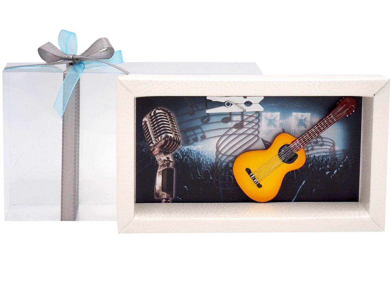 Geldgeschenk Verpackung Konzert Musik Gitarre Gutschein Geschenk