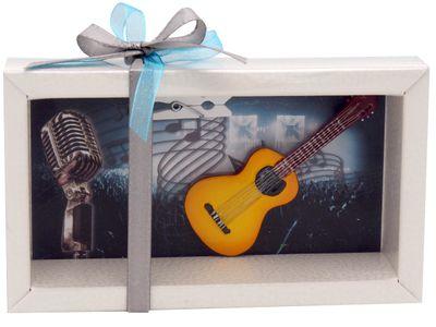 Geldgeschenk Verpackung Konzert Musik Gitarre