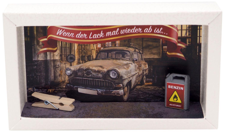 Geldgeschenk Verpackung Mann Auto Werkstatt Tuning Autoreparatur Benzin Geschenk Geburtstag