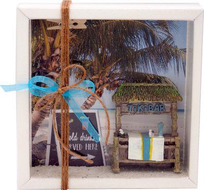 Geldgeschenk Verpackung Reise Urlaub Party Cocktail Standurlaub
