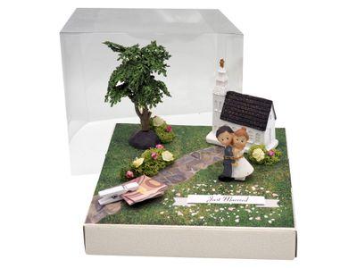 Geldgeschenk Verpackung Kirche Hochzeit Geschenk Just Married
