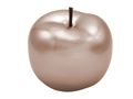 Dekofigur Apfel 12cm Keramik Perlmutt Rose Gold Dekoobjekt Rosegold 1