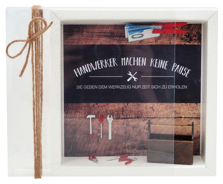 Geldgeschenk Verpackung Handwerker Werkzeug Gutschein Geschenk Mann Geburtstag Baumarkt Renovieren