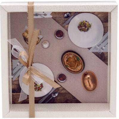 Geldgeschenk Verpackung Restaurant Essen Hühnchen Gutschein