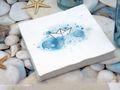 Servietten Schiff Boot Petrol Blau Weiß Taufe Kommunion Konfirmation Tischdeko 20 Stück 7