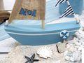 Deko Segelboot Holz Maritim Dekoschiff Tischdeko Urlaub Segeln Meer Geschenk 6