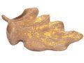 Deko Schale Blatt Gold Tischdeko Dekoschale Herbst Wohnaccessoire Aufbewahrung 1