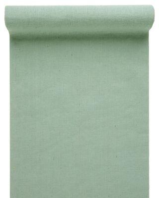 3m Tischband Leinen Stoff Tischläufer Mint