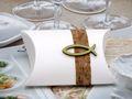 2 Gastgeschenke Schachtel Kork Fisch Holz Grün Basteln Kartonage Tischdeko Kommunion Konfirmation  3