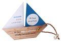 Einladungskarte Kommunion Konfirmation Taufe Boot Schiff Petrol Einladung Umschlag Braun Weiß 1