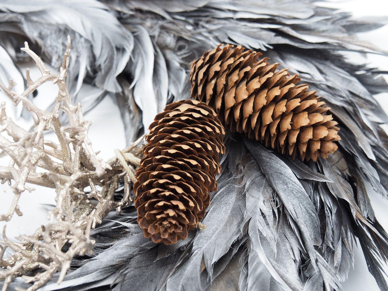5x Zapfen Fichtenzapfen Braun Deko Natur Tischdeko Weihnachten Advent Basteln Herbst