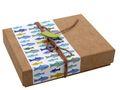 Geldgeschenk Verpackung Petrol Grün Fisch Kommunion Konfirmation Gutschein Geschenkidee 1