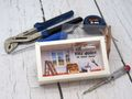 Geldgeschenk Verpackung Umzug Einzug Renovieren Werkzeug Gutschein Geschenk Geburtstag 6