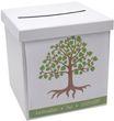 Briefbox Kartenbox MIT NAMEN Kommunion Konfirmation Baum des Lebens Grün  1