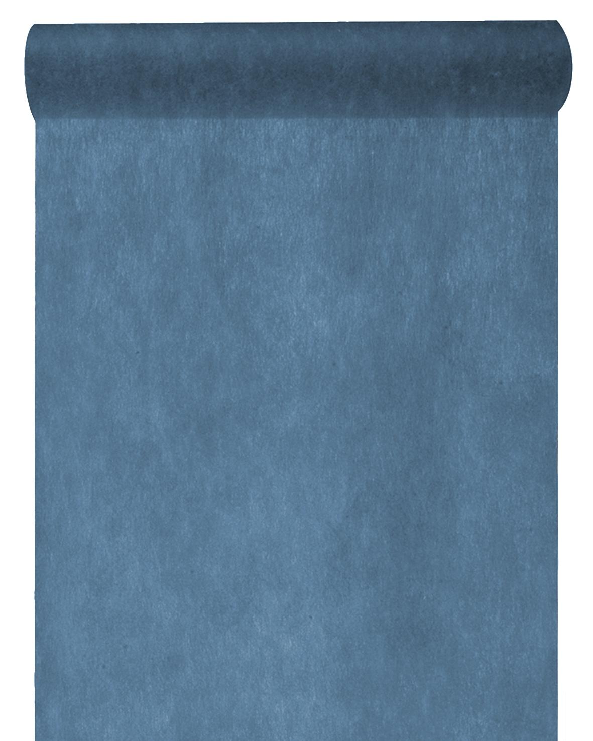 10m Tischläufer Vlies Blau Dunkelblau Tischband Tischdeko Kommunion Konfirmation Deko