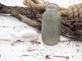 2 Vasen Flaschen Taupe Grau Kommunion Konfirmation Tischdekoration Hochzeit Blumenvase Glas 4