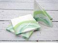 Servietten Kommunion Konfirmation Taufe Tischdeko Fisch Regenbogen Grün Deko 20 Stück 5