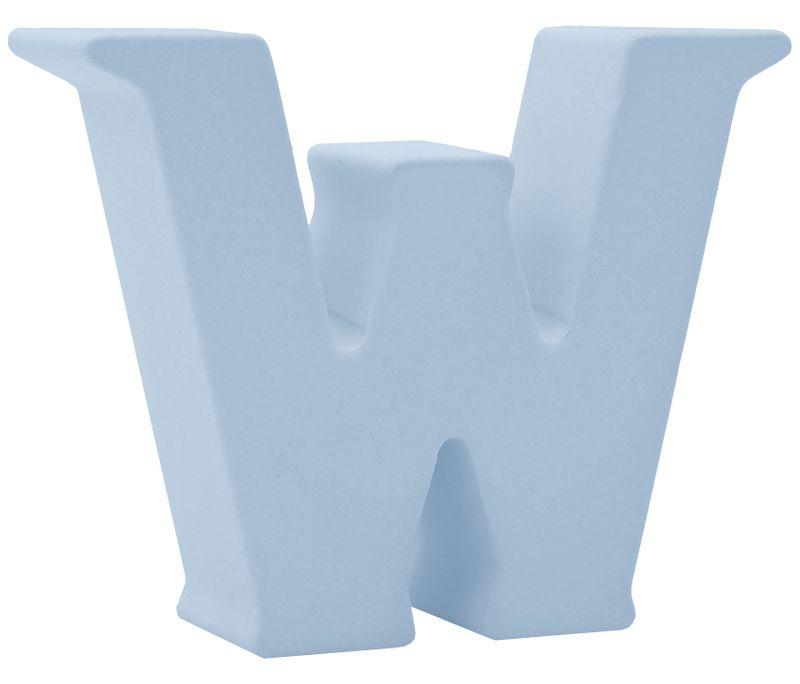 Buchstaben Stehend 3D Blau Tischdeko Name Alphabet Kommunion Konfirmation Taufe Deko A-Z
