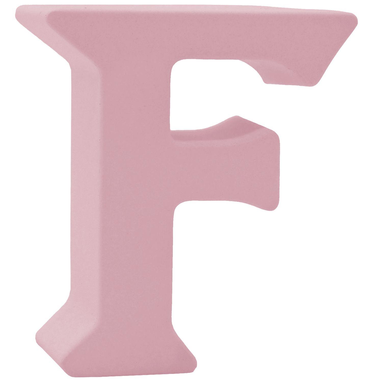 Buchstaben Stehend 3D Rosa Tischdeko Name Alphabet Kommunion Konfirmation Taufe Deko A-Z