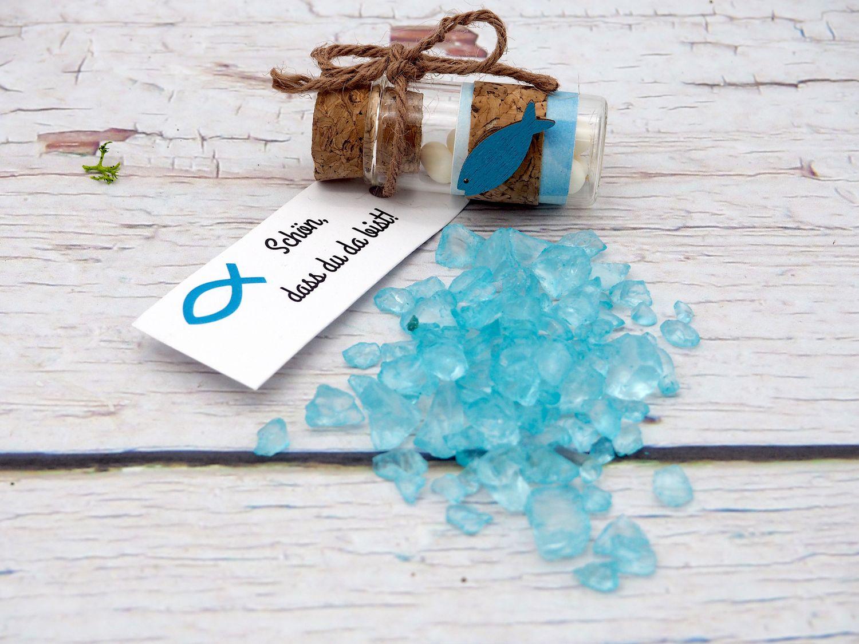 500g Crushed Ice Türkis Blau Steine Glas Streudeko Dekosteine Tischdeko Taufe Kommunion Konfirmation