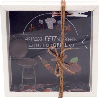 Geldgeschenk Verpackung Grillen Barbecue Mann Geburtstag