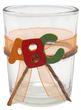 2x Teelichtglas Schulanfang Einschulung Tischdeko ABC Party Kinder Bunt 3