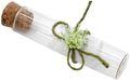 5 Gastgeschenke JENNY Hochzeit Vintage Glasröhrchen Weiß Grün Spitze Geburtstag Tischdeko  1