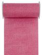 10m Tischläufer Tischband Leinen Optik 20cm Pink Beere Tischdeko Partydeko Hochzeit Geburtstag 1