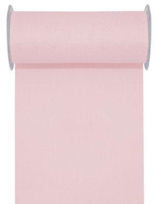 10m Tischläufer Tischband Leinen Optik 20cm Rosa Pastell