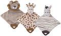 Kuscheltier Schnuffeltuch Rassel Tier Schmusetuch Kuscheltuch Löwe Giraffe Zebra Geschenk Baby Geburt Taufe  1