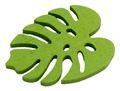 Tischdeko Monstera Streudeko Blätter Holz Grün 12 Stück 3,5cm Basteln Garten 2