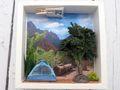 Geldgeschenk Verpackung Camping Zelten Berge Gutschein Urlaub Reise Geschenk Geburtstag 2