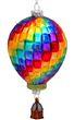 Christbaumschmuck Weihnachtsbaumschmuck Weihnachtsdeko Heißluftballon Glas Geschenk 1