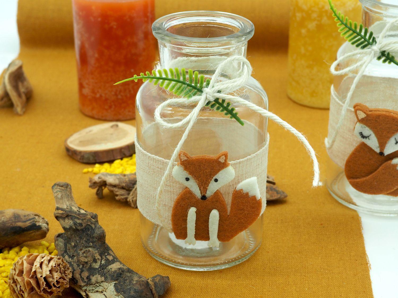 Tischdeko Kindergeburtstag Fuchs Braun Orange Party Geburtstag Dekoration Herbstdeko