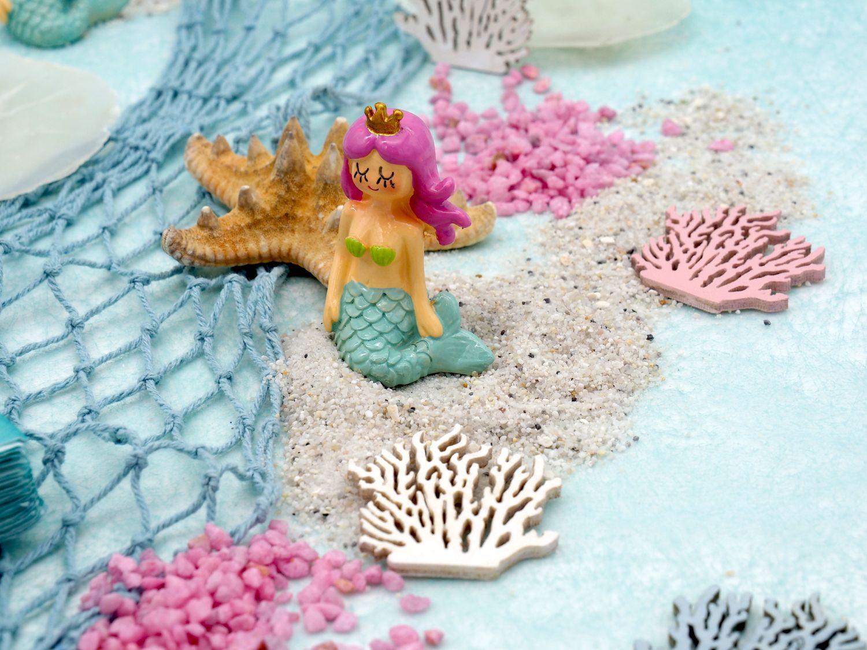 Tischdeko Kindergeburtstag Meerjungfrau Türkis Mint Pink Mädchen Party SET