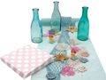 Tischdeko Kindergeburtstag Meerjungfrau Türkis Mint Pink Mädchen Party SET 1
