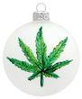 Weihnachtskugel Christbaumkugel Hanf Marijuana Cannabis Weed Gras Kiffen Weihnachten Weihnachtsdeko 1