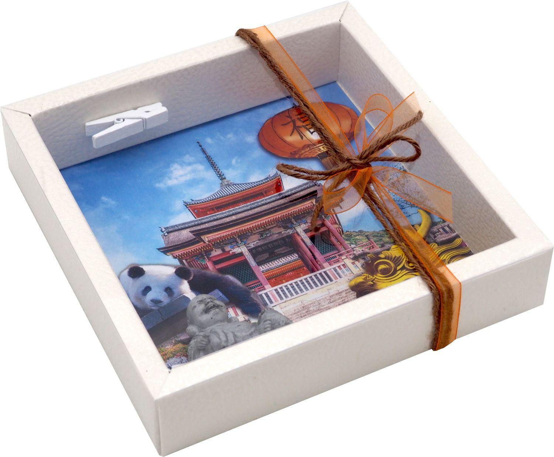 Geldgeschenk Verpackung China Asien Urlaub Reise Geldverpackung Buddha