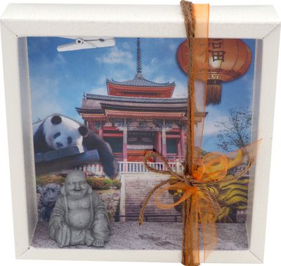 Geldgeschenk Verpackung China Asien Urlaub Reise