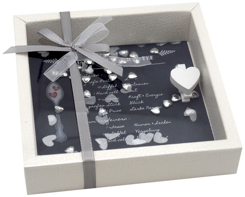 Geldgeschenk Verpackung Diamantene Hochzeit Jubiläum Gutschein Geschenk Rezept für 60 Jahre Ehe