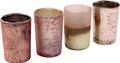 Kerzenhalter Teelichthalter Rosegold Glas Advent Deko Weihnachten Sommer 001