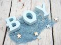 Streudeko Spiegelsand Sterne Blau Hellblau Dekosand Tischdeko Taufe Geburt Baby 500g 3
