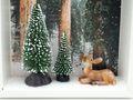 Geldgeschenk Verpackung Weihnachten XMAS Reh Wald Tanne Geschenk Gutschein 4