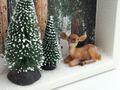Geldgeschenk Verpackung Weihnachten XMAS Reh Wald Tanne Geschenk Gutschein 6