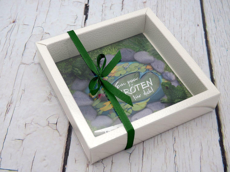 """Geldgeschenk Verpackung """"Ein paar Kröten für dich"""" Geld Geburtstag Geschenk"""
